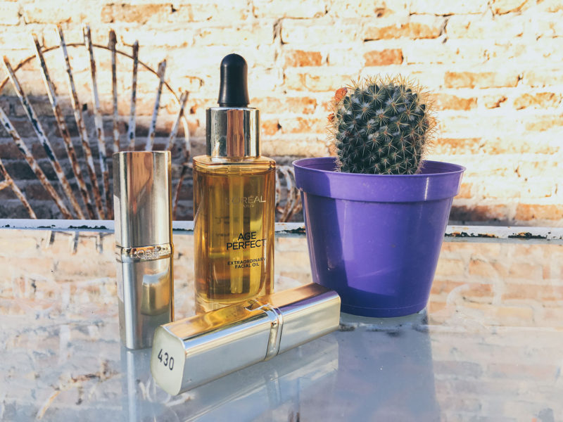 REVIEW: L'Oreal lipsticks and facial oil