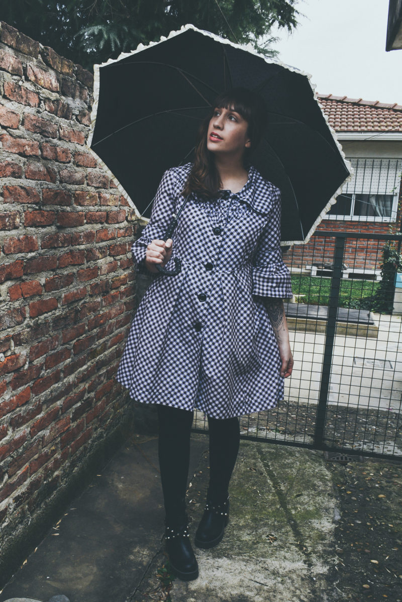 OUTFIT: Impractical rainy days